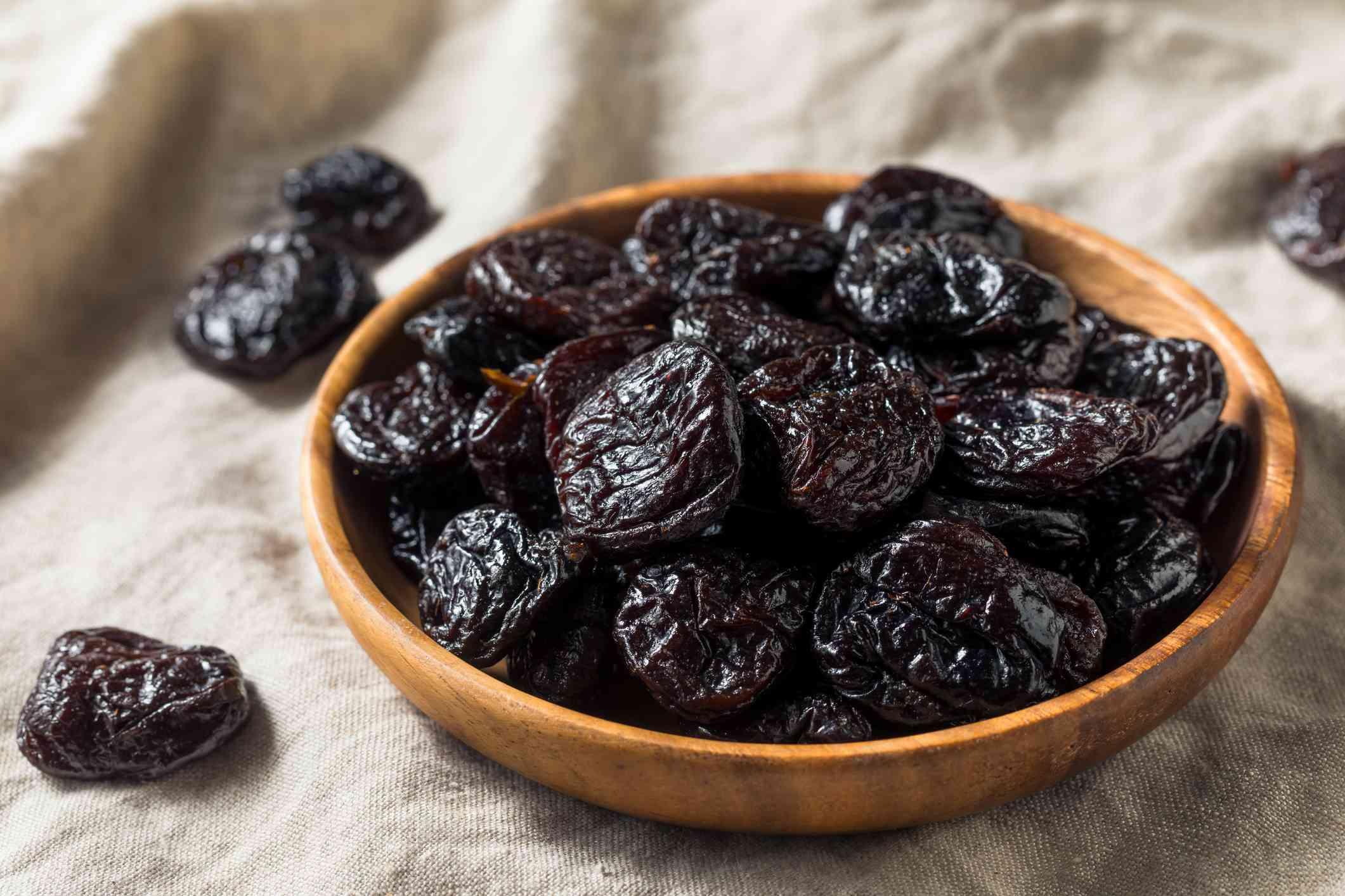 Raw Organic Dry Prunes