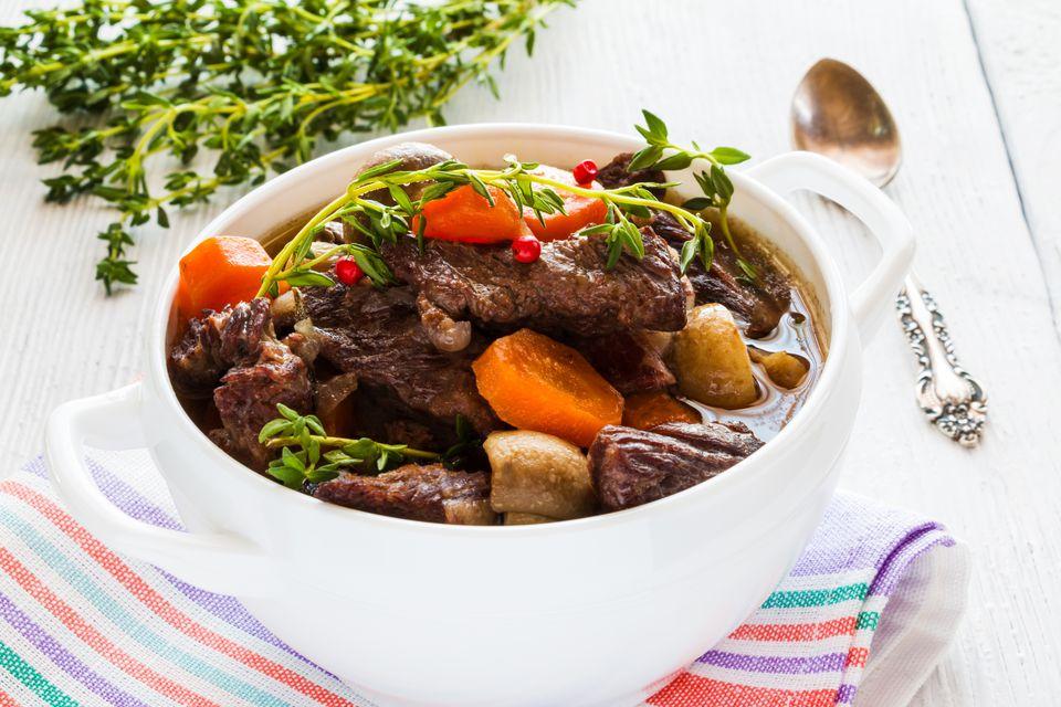 Sopa de carne de res a la antigua