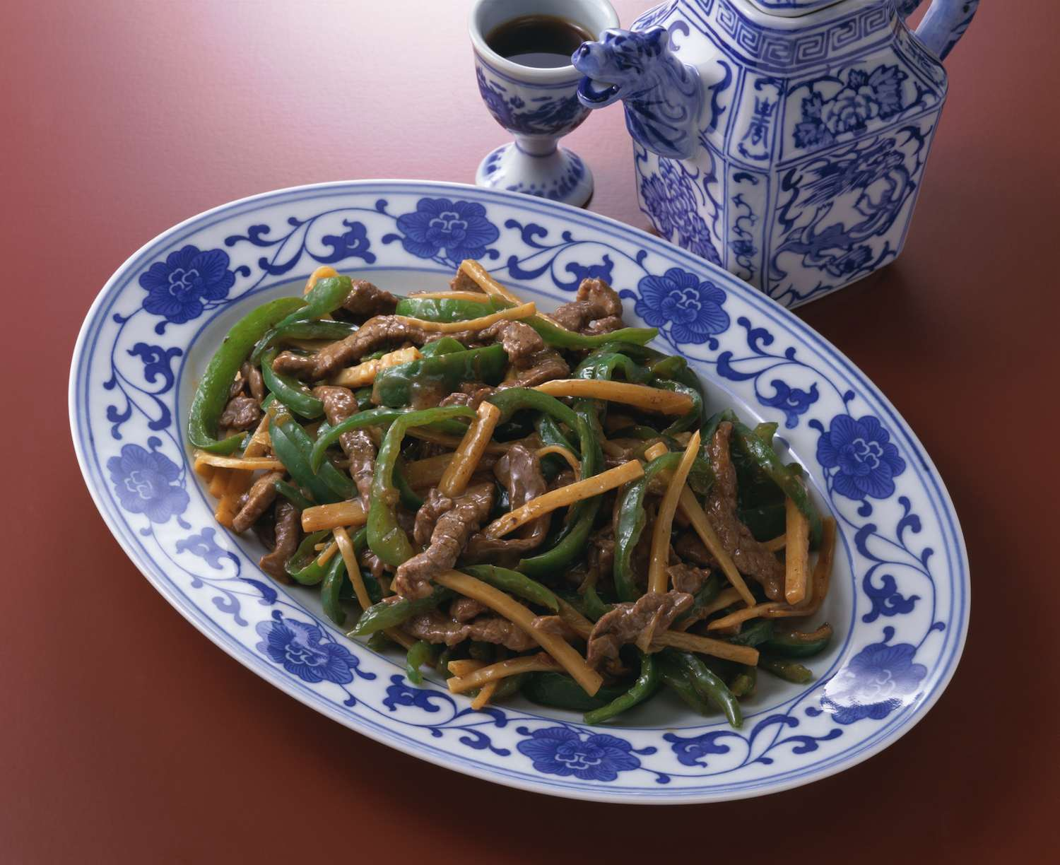 Stir-fry Beef With Bamboo Shoots