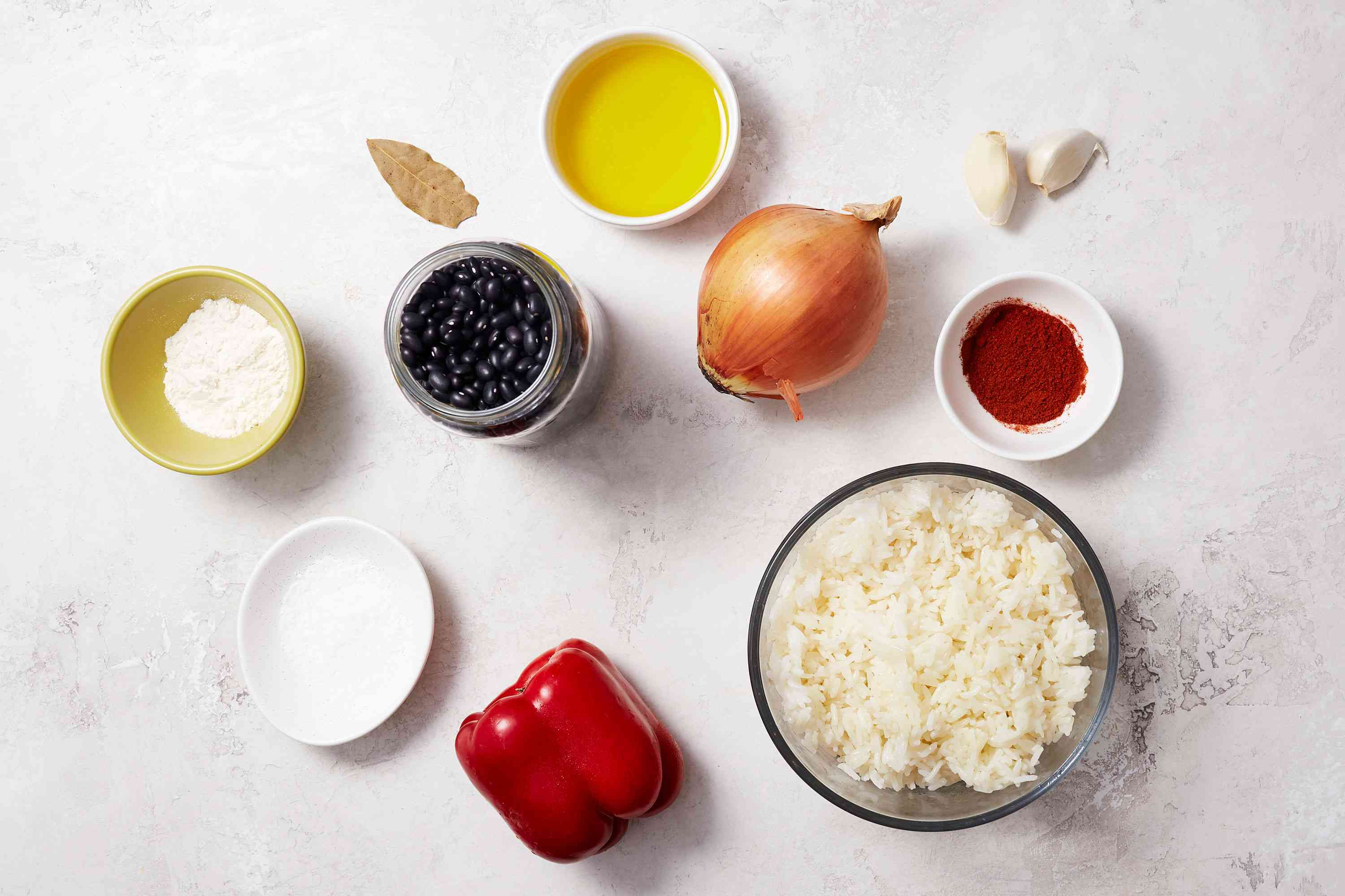 Spanish Beans and Rice (Alubias Con Arroz) ingredients