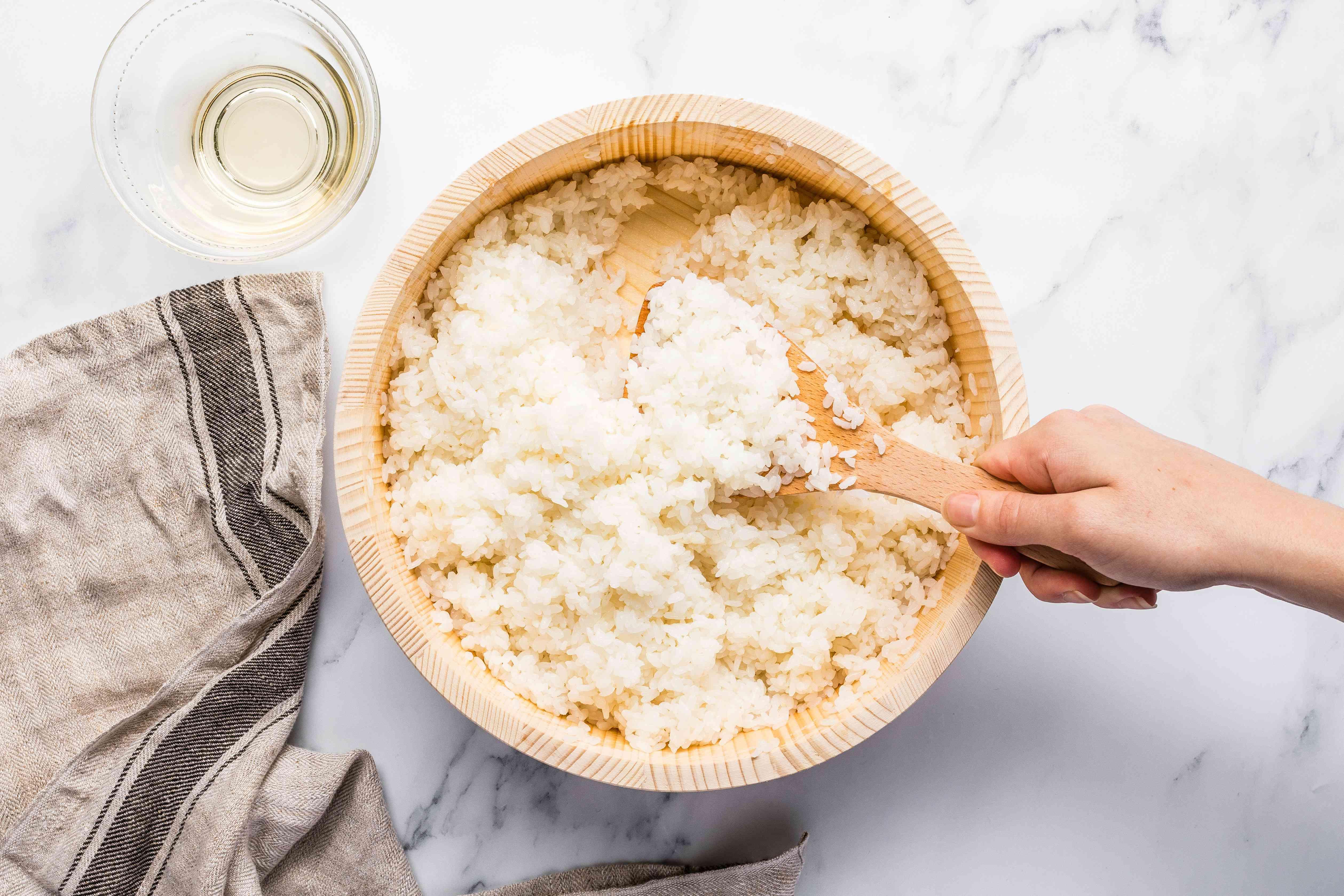 Spoon rice