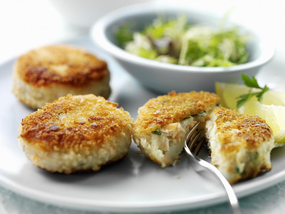 Smoked fishcakes