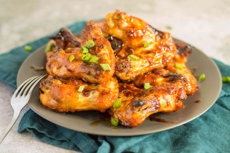 Korean BBQ Chicken Wings
