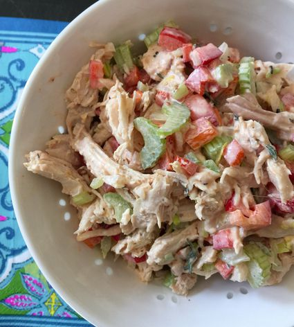 Smoky Chipotle Chicken Salad
