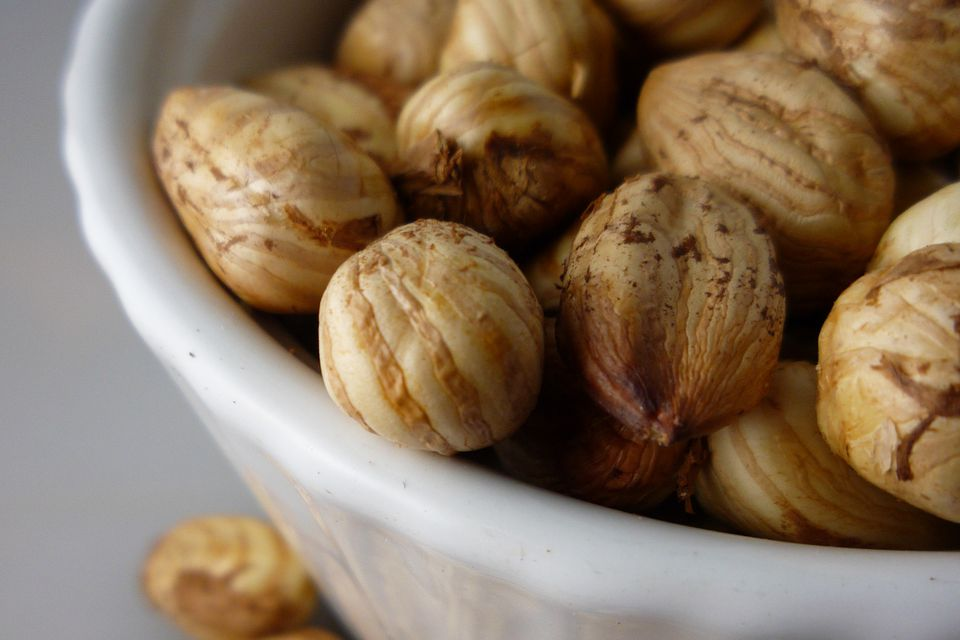 Cobnuts in a bowl