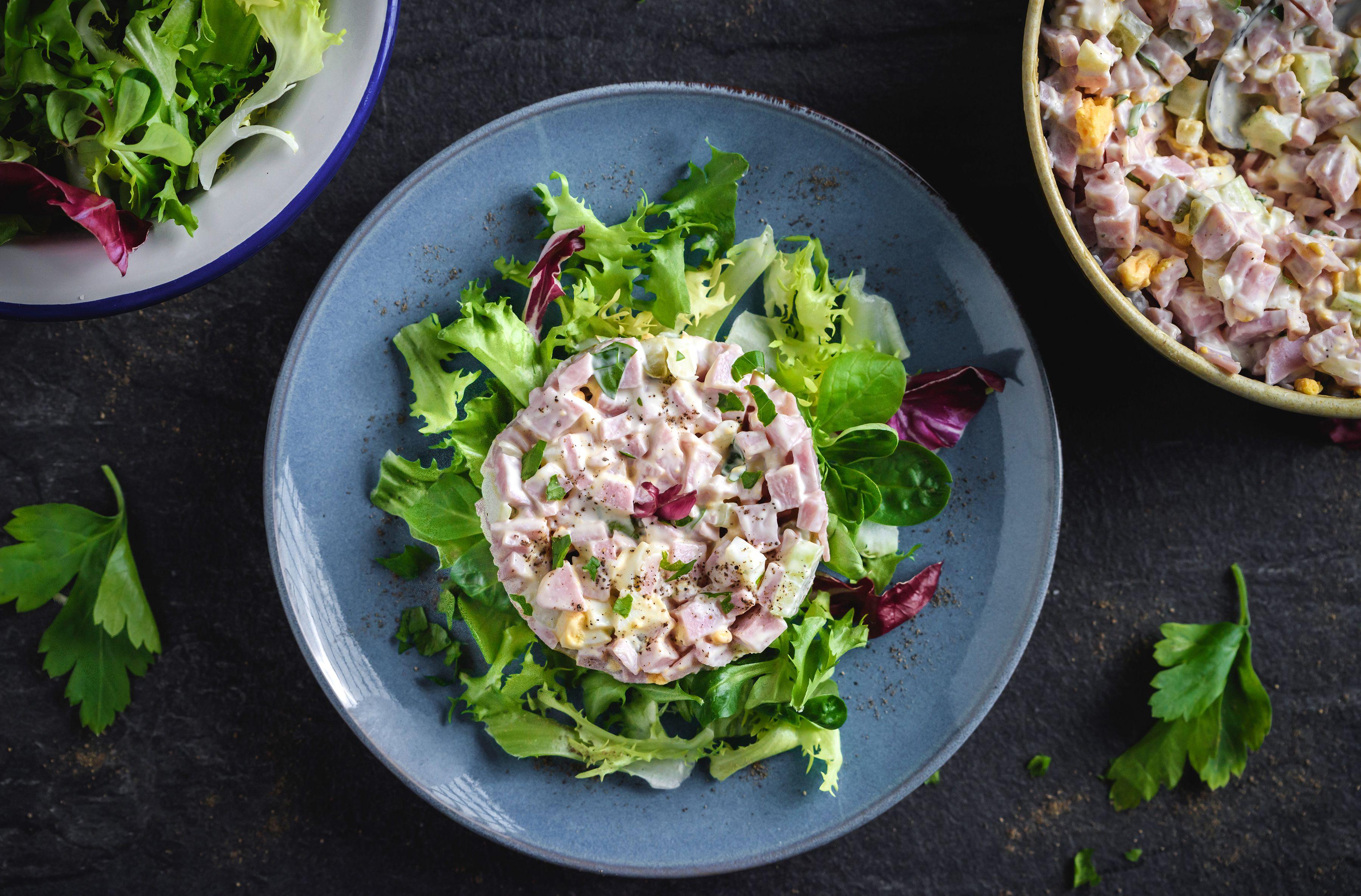 Serve on a salad