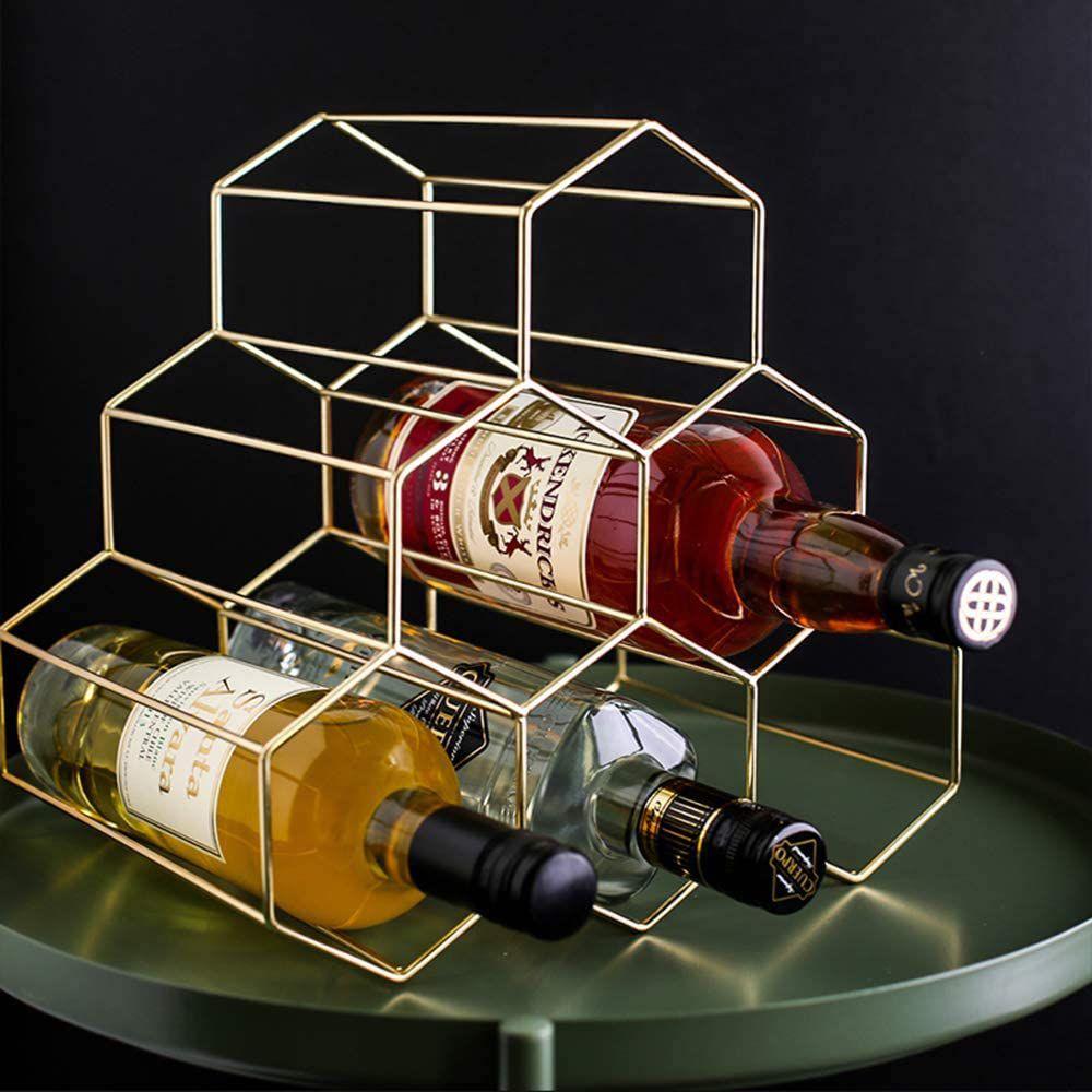 Pengke Freestanding Wine Rack
