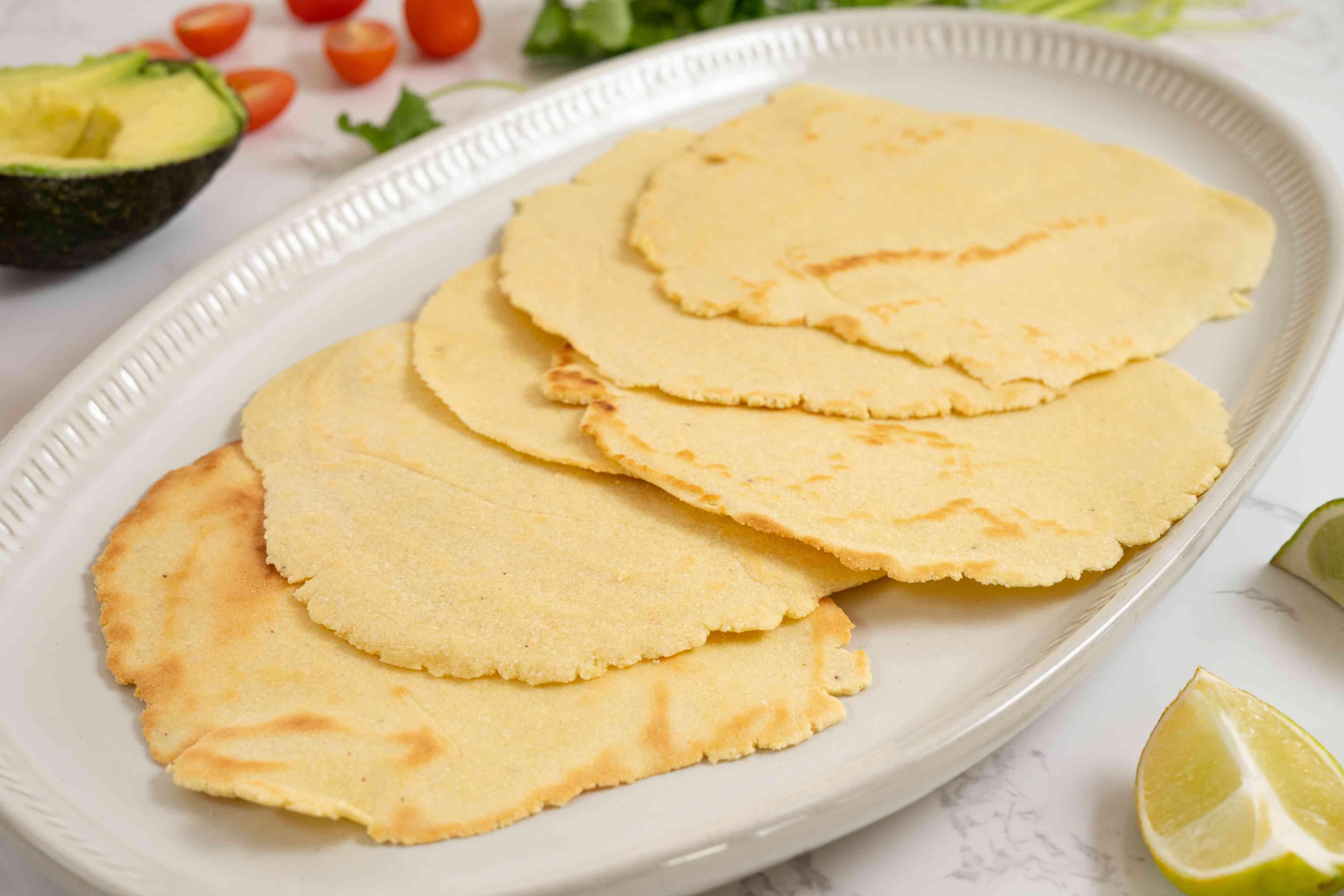 Keto Almond Flour Tortillas