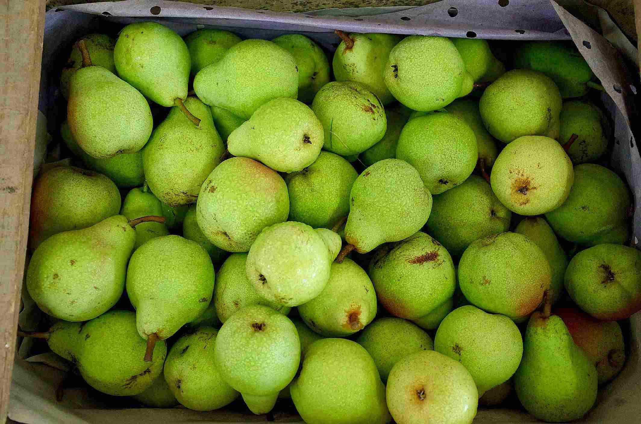 French Pears at Market