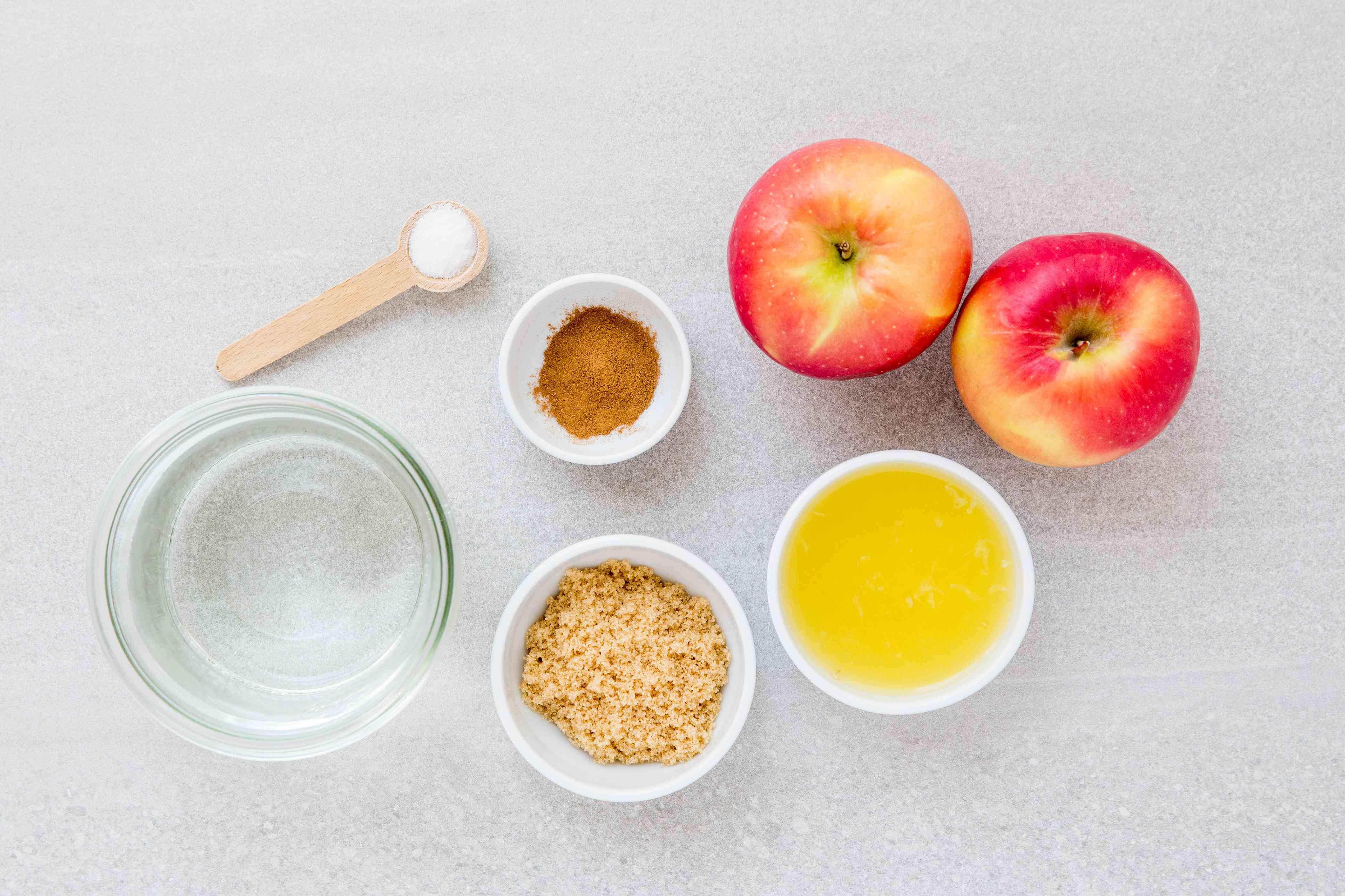 Grilled Cinnamon Apples ingredients