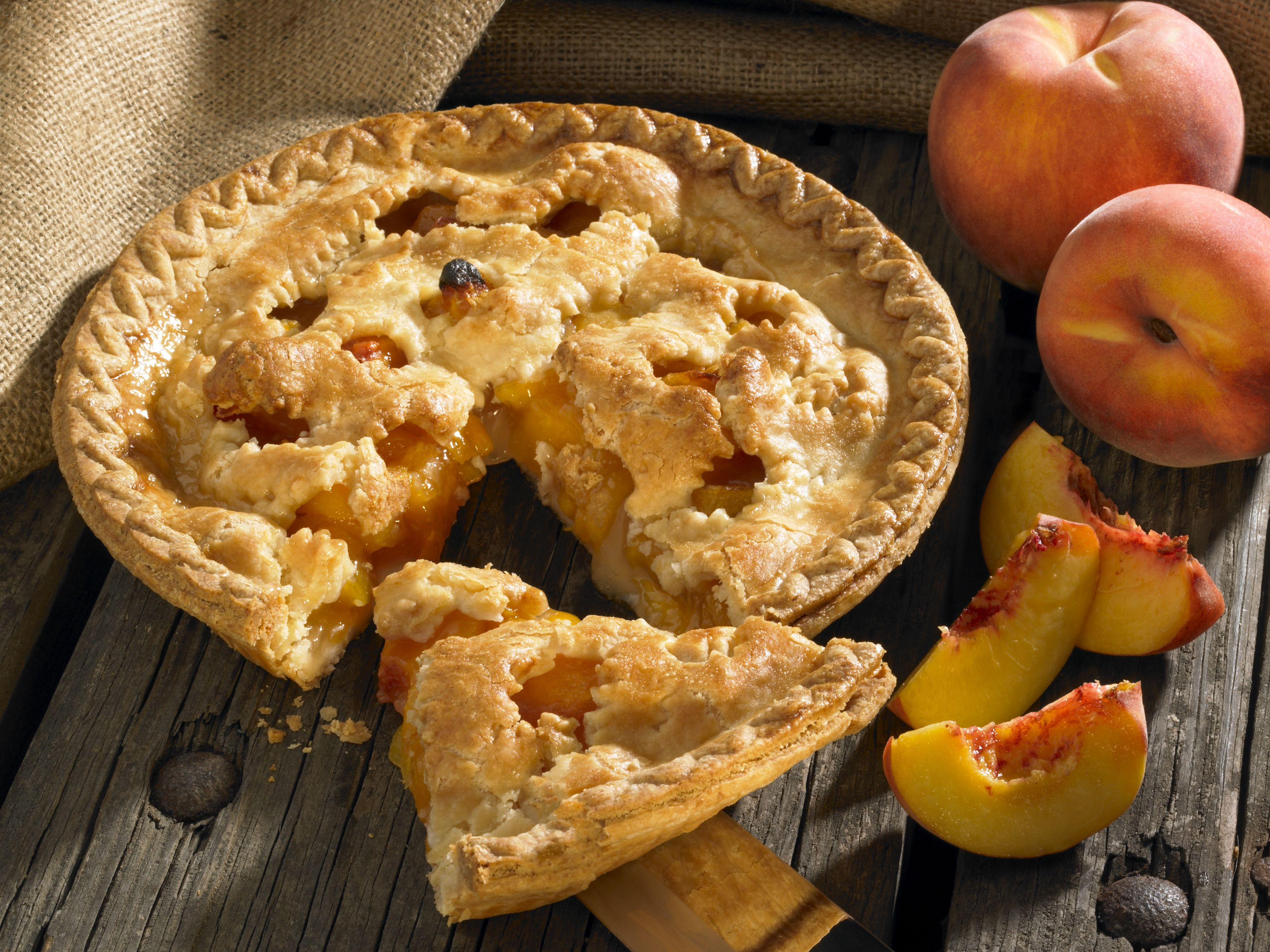 Double Crust Peach Pie Recipe