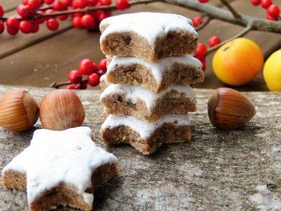 German Cinnamon Star Cookie Or Zimsterne Recipe
