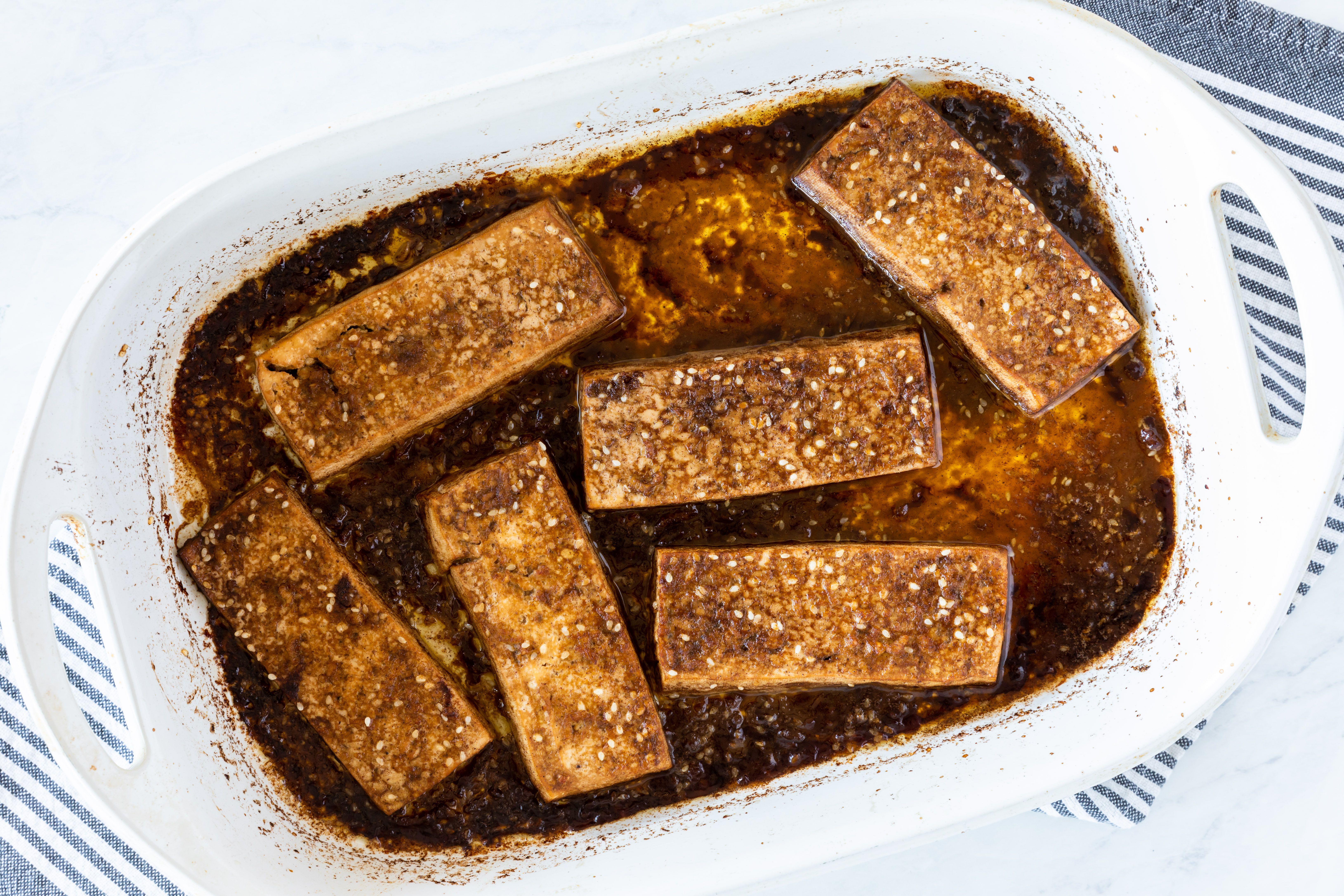Bake your tofu