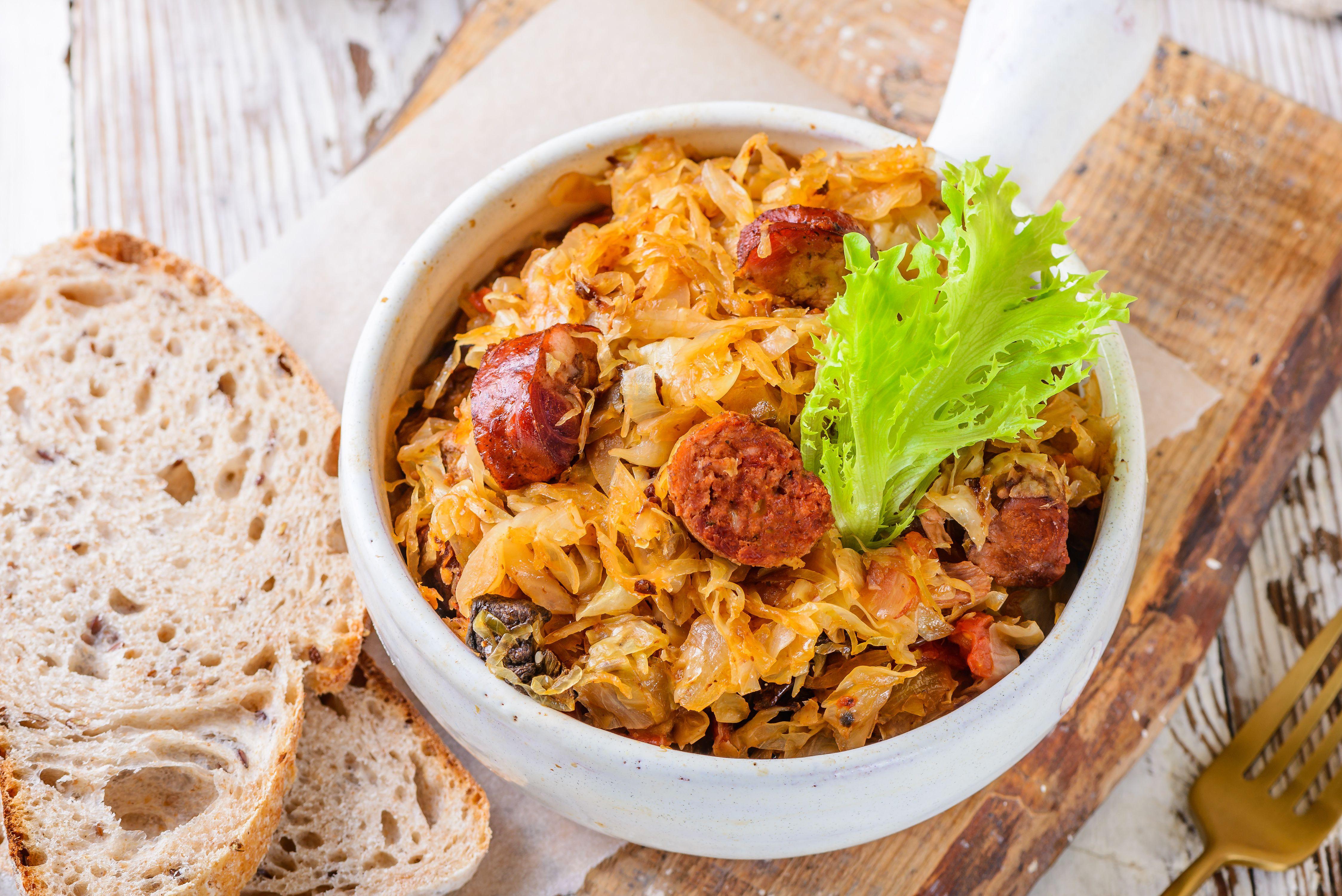 Recipe for Polish Bigos or Hunter's Stew