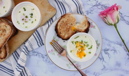 Coddled Eggs with Ham and Cheese Recipe