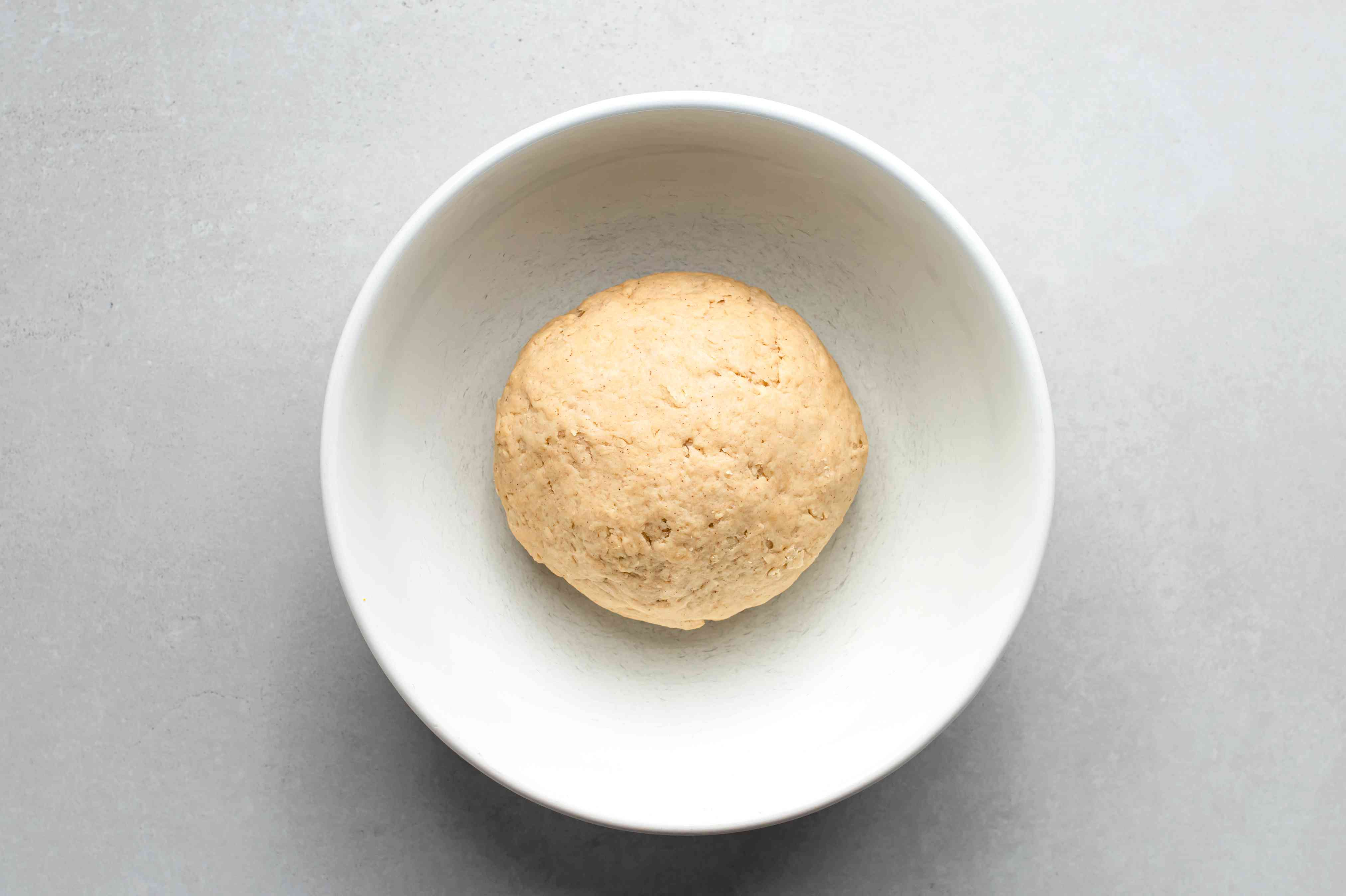 empanada dough in a bowl