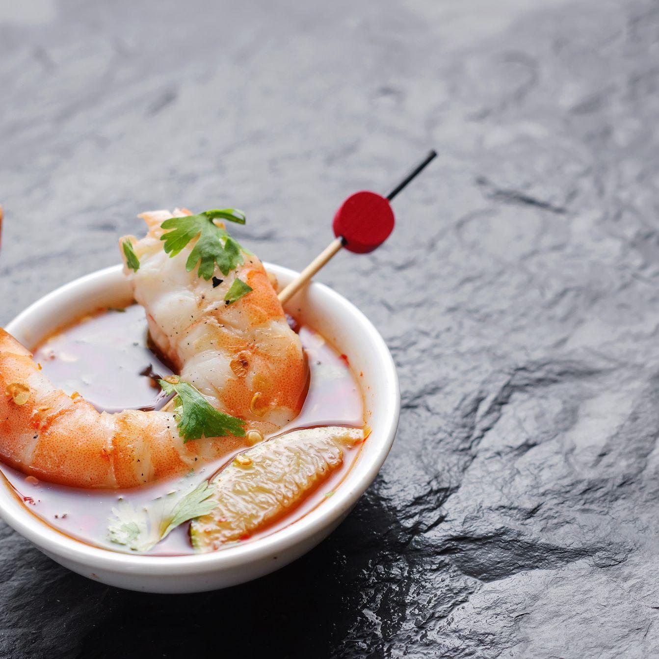 Thai Coconut-Lime Shrimp Recipe