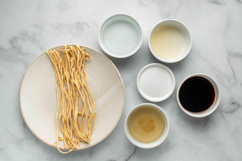 Kanpyo ingredients