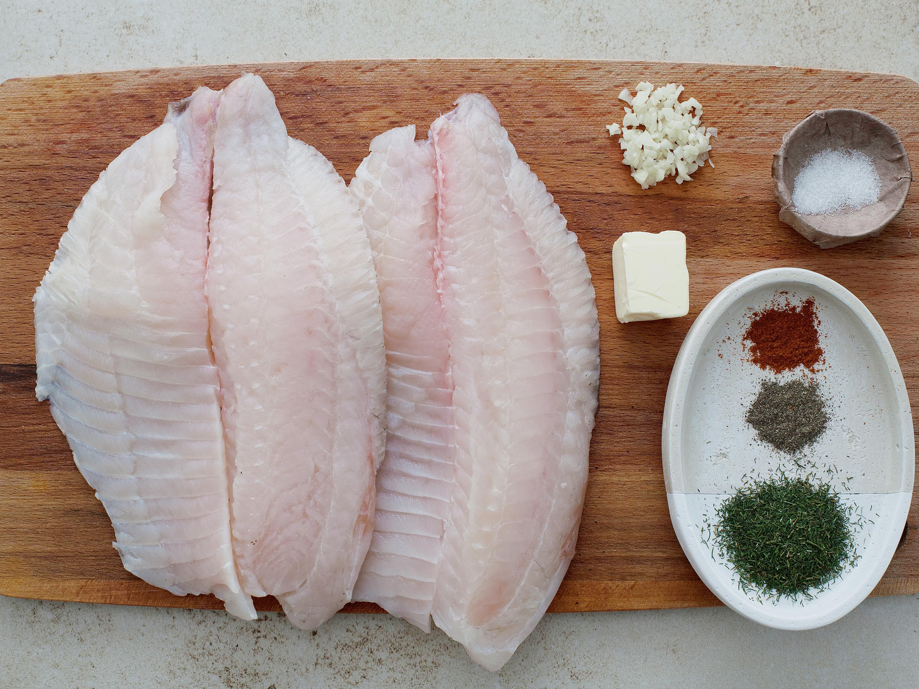 Baked Tilapia With Garlic Butter Ingredients