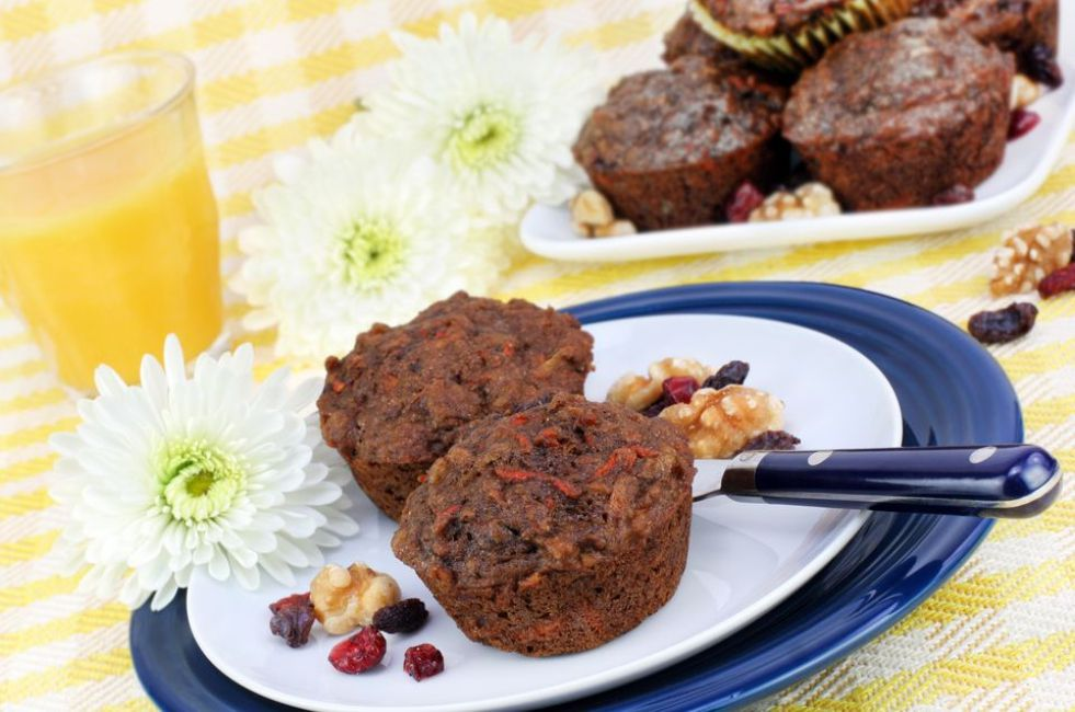 Gluten-Free and Dairy-Free Morning Glory Muffins