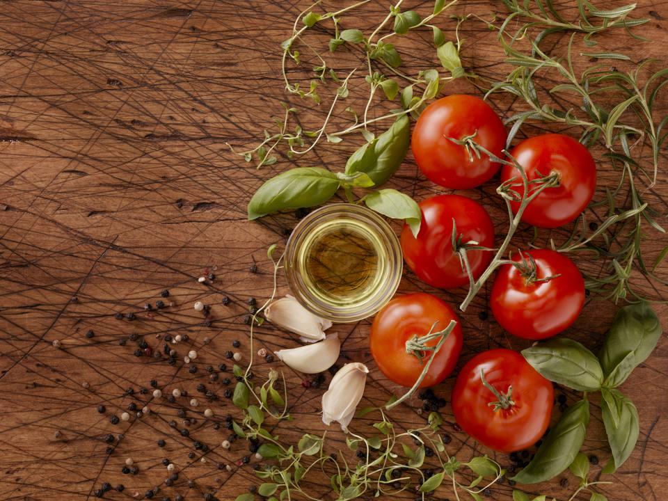 Tomates conservados en aceite de oliva