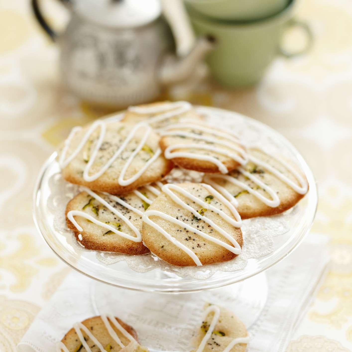 lemon poppy cookies