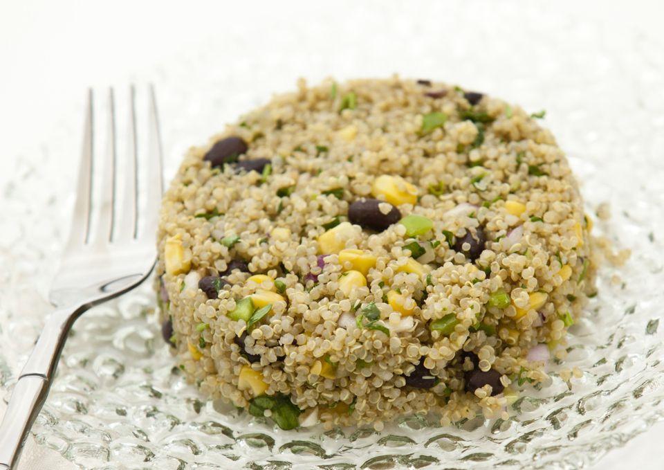 Quinoa and Black Bean Salad With Corn and Cilantro