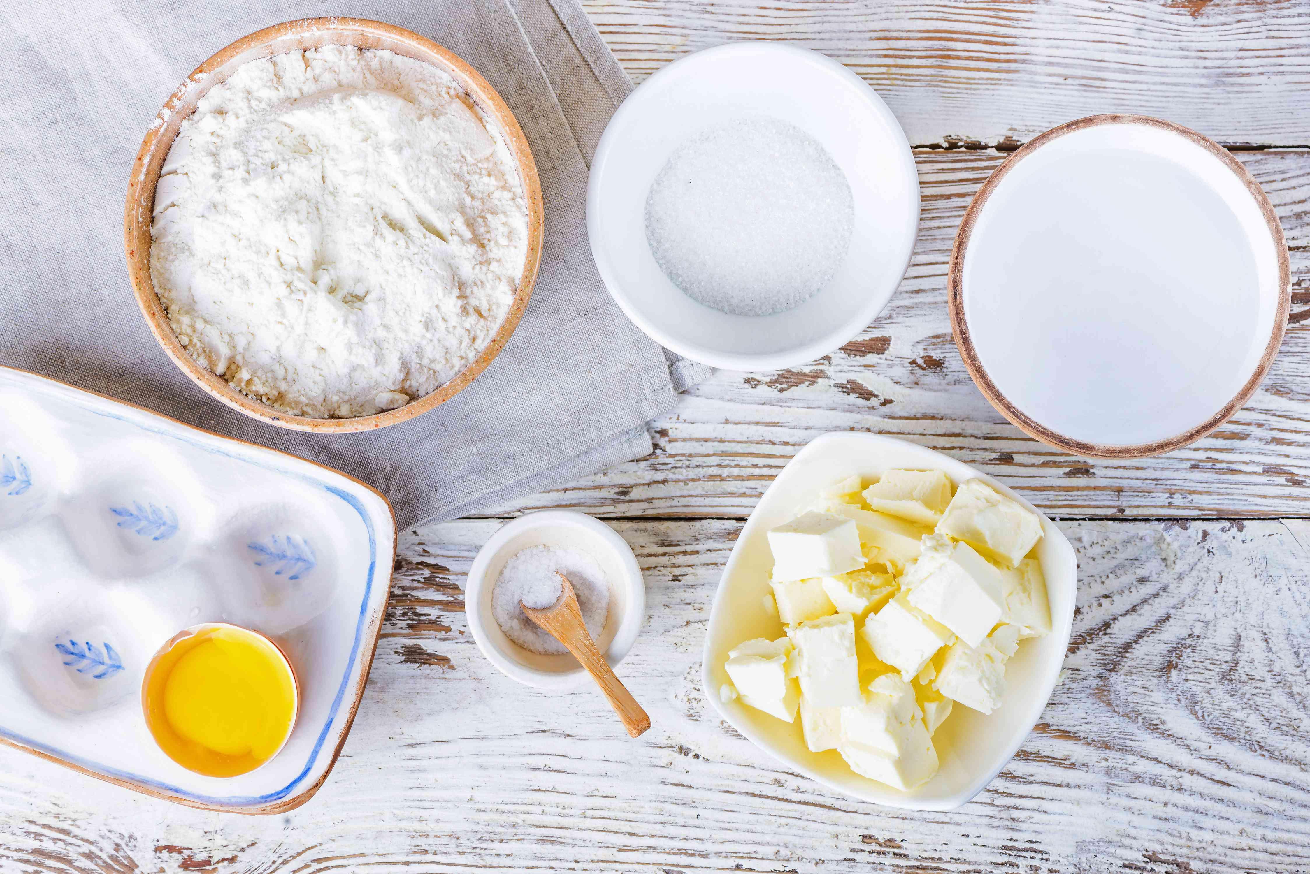 Ingredients for tart ingredients