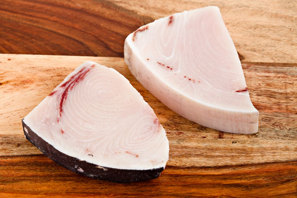 Raw Halibut Steaks