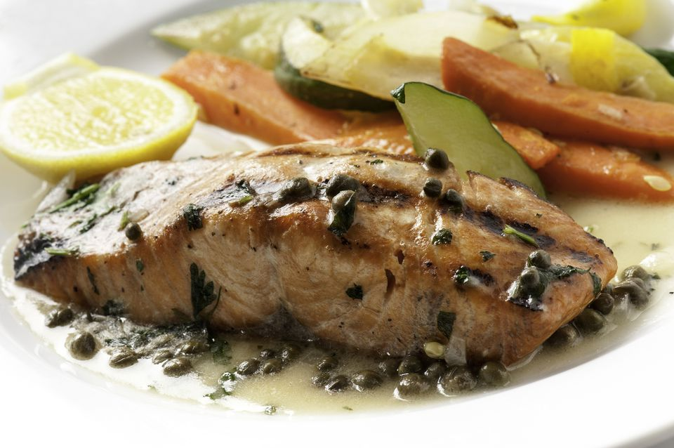 how to cook salmon with capers