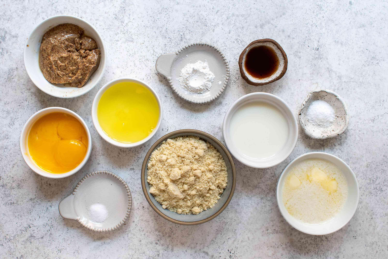 Keto waffles ingredients
