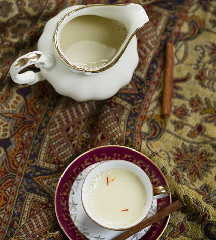 Classic saffron milk