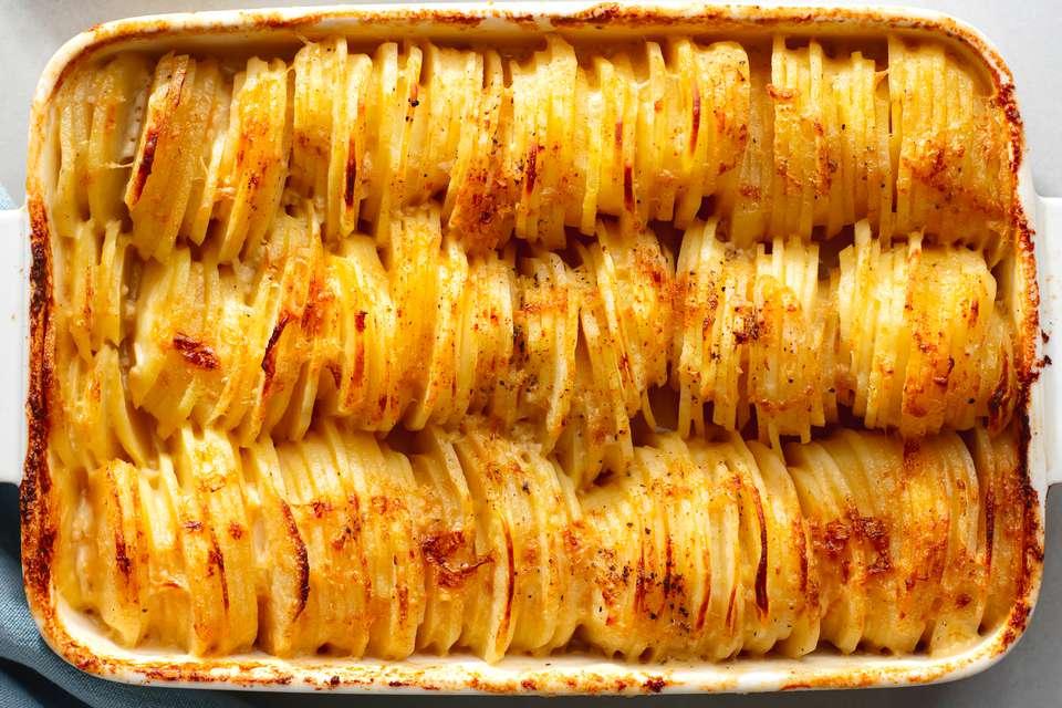 Creamy Baked Potatoes