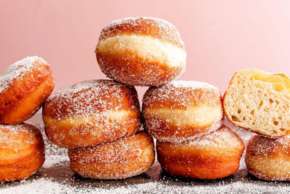 Serbian doughnuts Krofne recipe