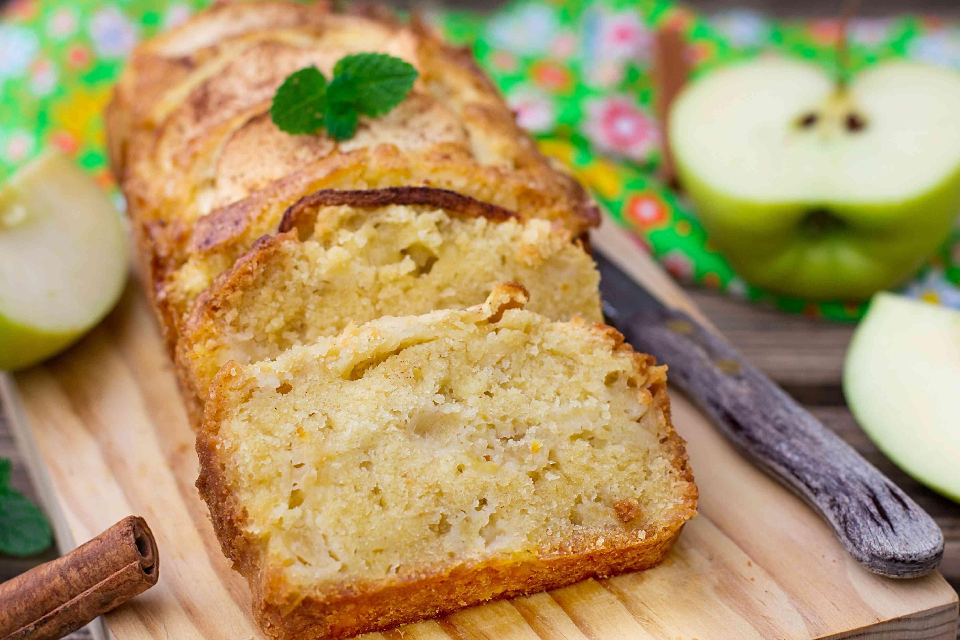 Apple Batter Bread
