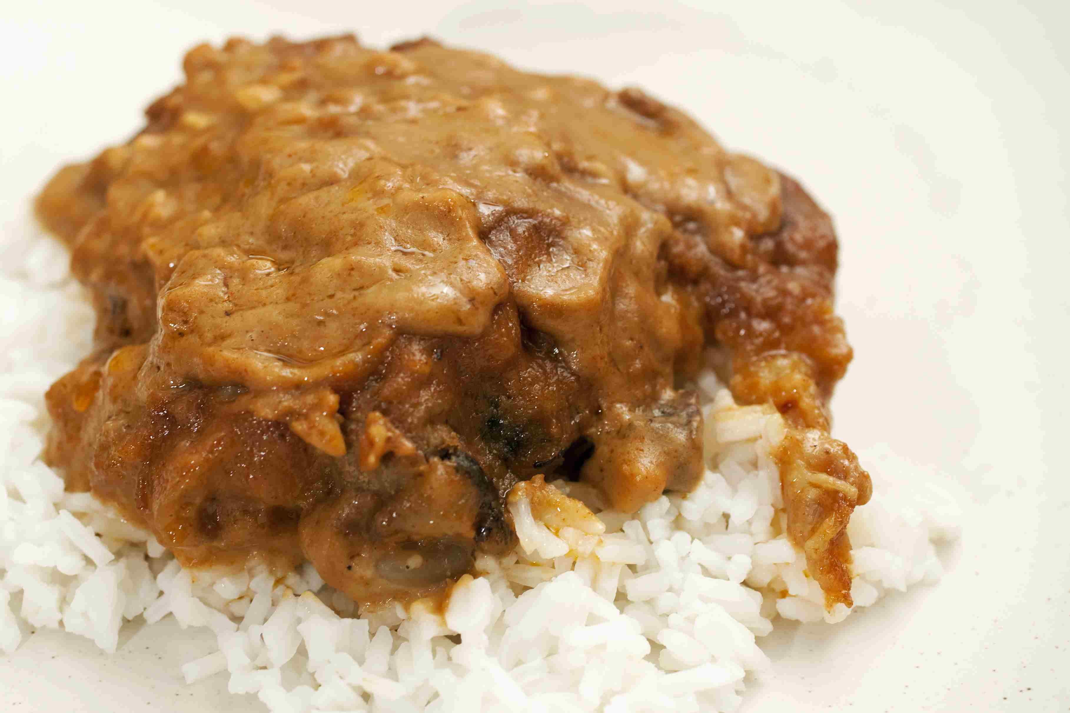 thai chicken on rice