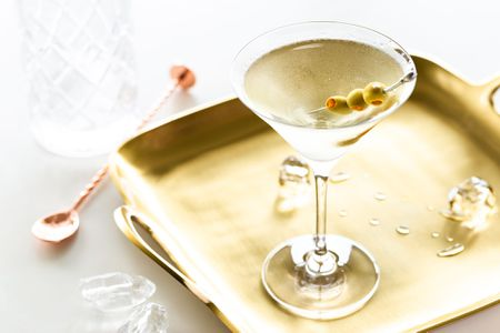 The Dirty Martini It - s All About the Olive Juice