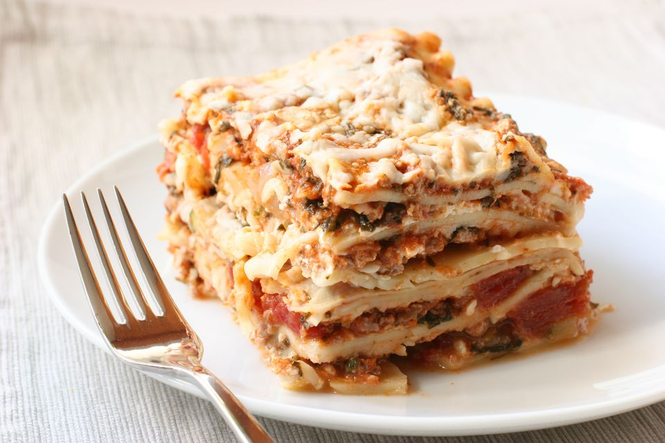 Lasagne With Ricotta Cheese