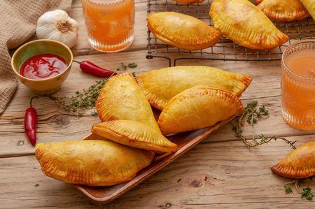 Jamaican Beef Patties (in Flaky Pastry) Recipe
