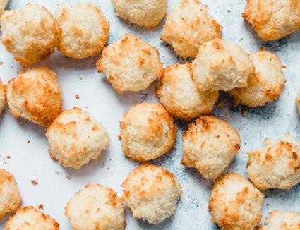 Dairy-Free Coconut Macaroon Cookies
