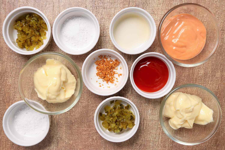 McDonald's Famous Special Sauce recipe ingredients