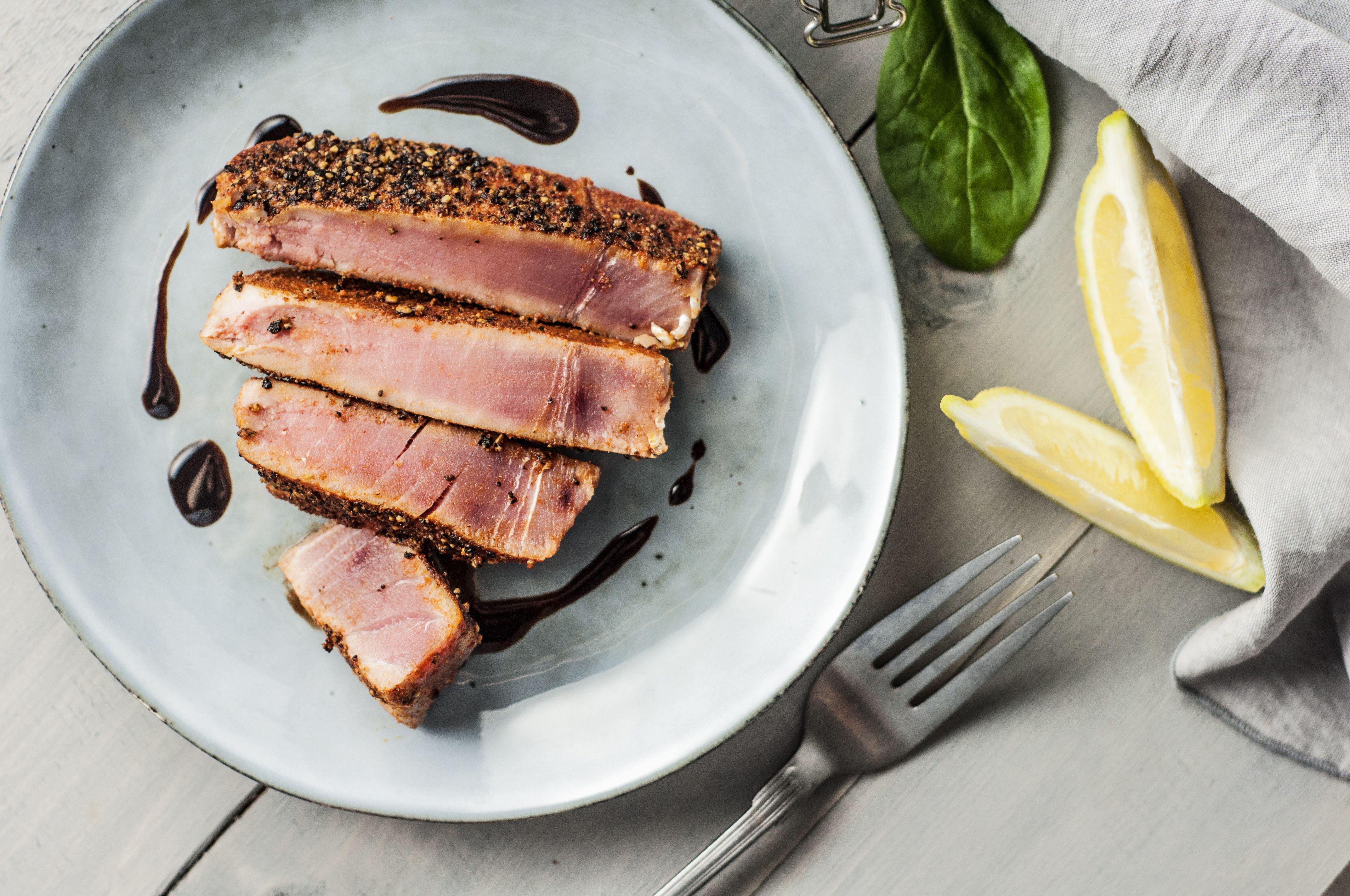 Seared Tuna Steaks | You As A Machine