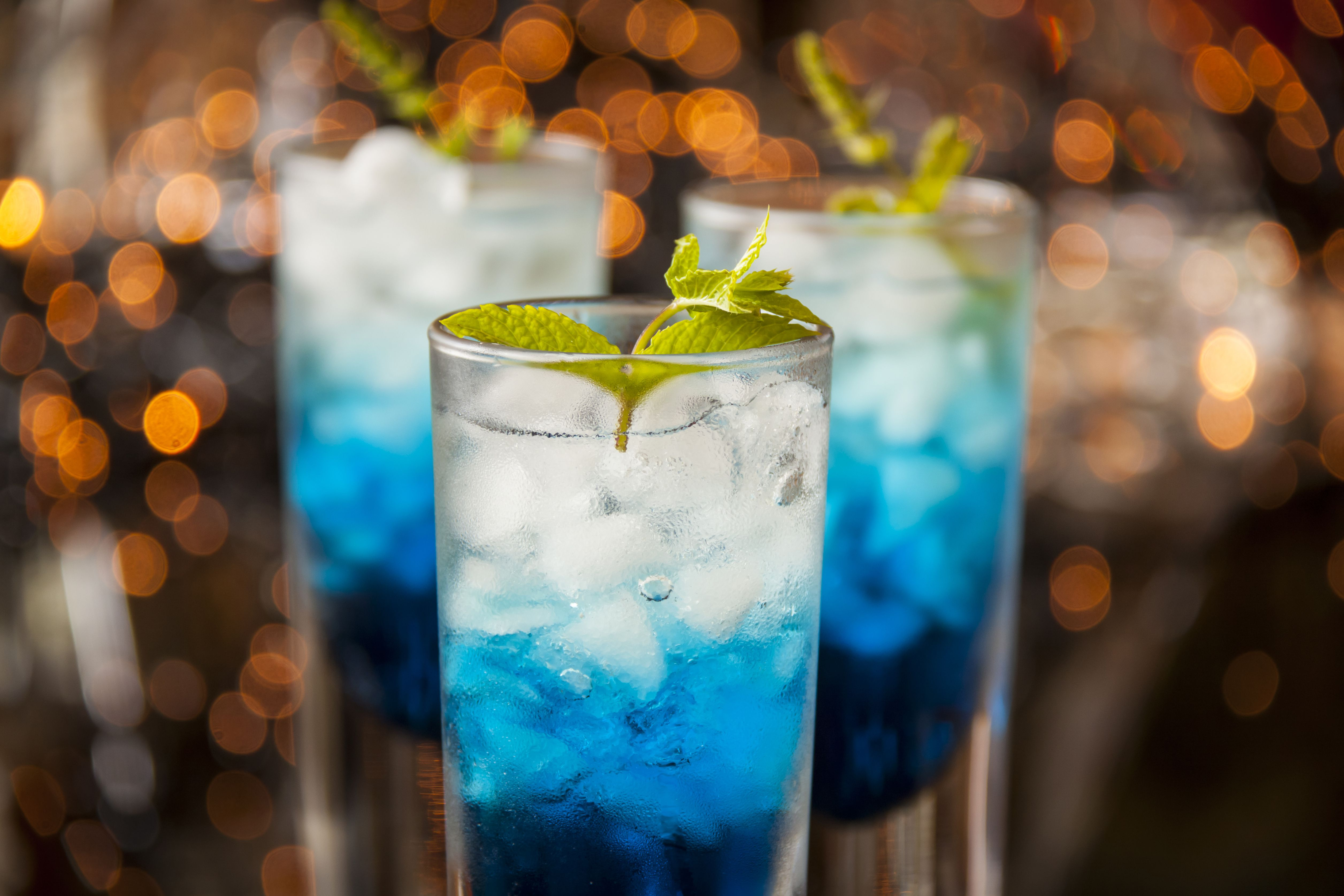 Blue cocktail  UV Liberty Cocktail Recipe With UV Blue Vodka