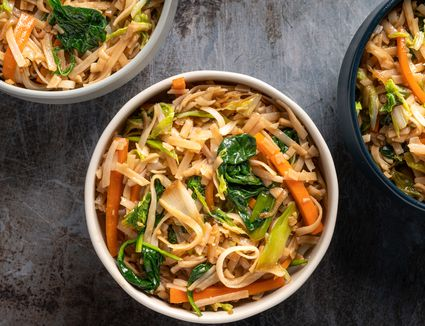 Anytime Noodles With Stir-Fried Vegetables