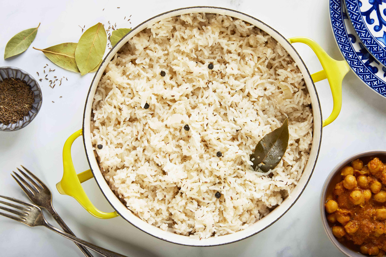 Easy vegan basmati rice recipe