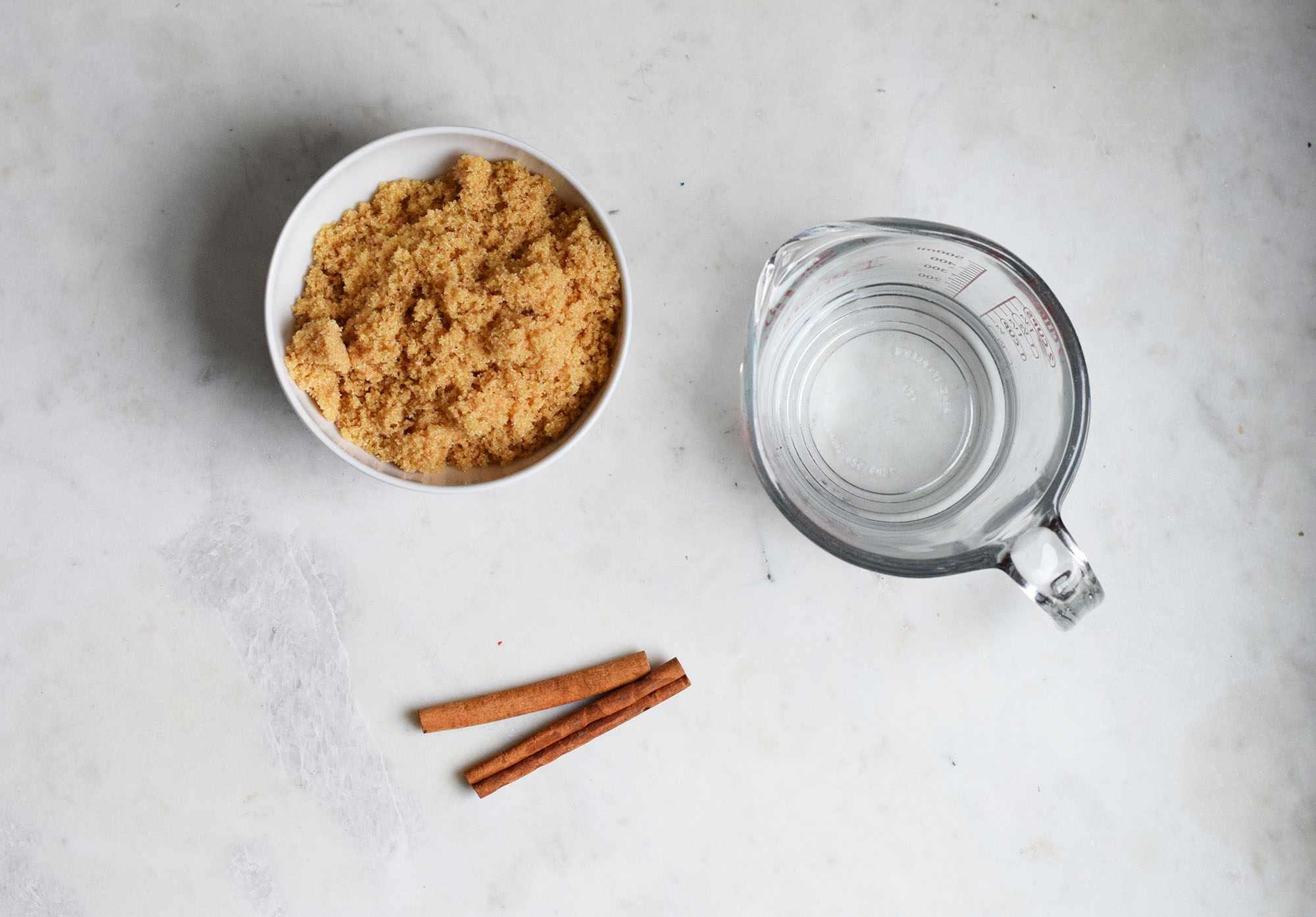 cinnamon syrup ingredients
