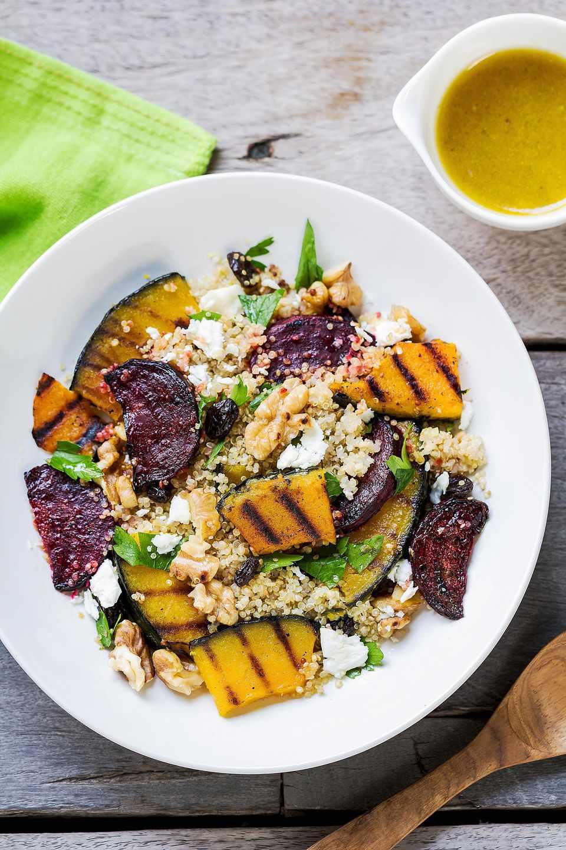 Grilled Vegetable Quinoa Pilaf