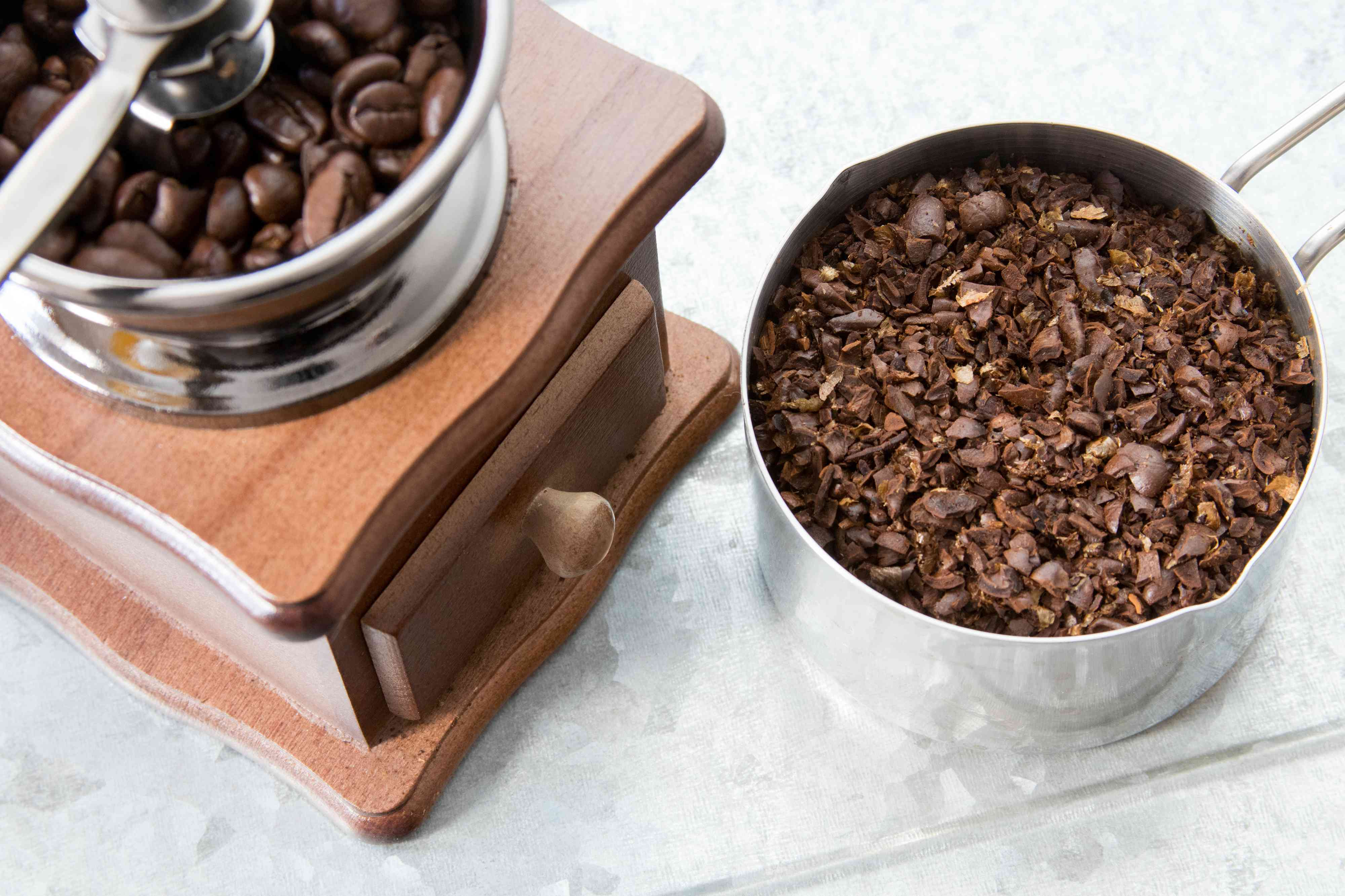 Coarsely Ground Coffee Beans for Cold Brew