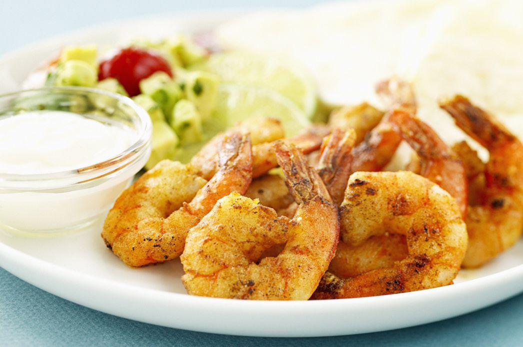 Spicy Orange Grilled Shrimp