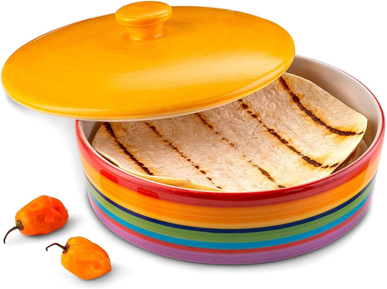 Kook Ceramic Tortilla Warmer